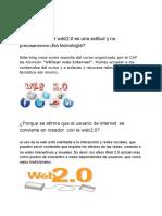WEB 2.0 DAVID Gomez y Adrian Bolaños