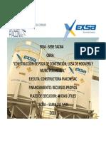 Cartel Exsa Sede Tacna (1)