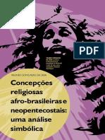 Catolicismo e Xamanismo Comparação Entre a Cura No Movimento Carismático e Na Pajelança Rural Amazônica