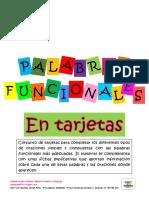 PALABRAS FUNCIONALES