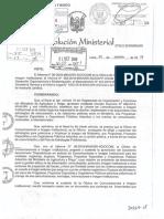 Modelo de Lineamiento de Bienes y Servicios