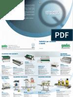 Catalogo Saldatrici Selladoras de calor Industriales