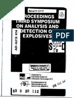 PROCEEDINGS THIRD SYMPOSjUM ON ANALYSIS, AND DETECTION. OF EXPLOSIVES.pdf