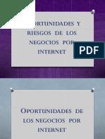 Oportunidades y Riesgos de Los Negocios Por Internet