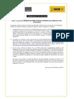 COMUNICADO 001- 2019 - Vigencia de Bases Estandar