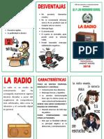 Triptico El Radio