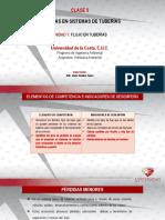 Clase 5 - Pérdidas en Sistemas de Tuberías (1)