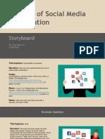 chau le - storyboard - social media in education