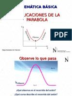 Aplicacion Parabola