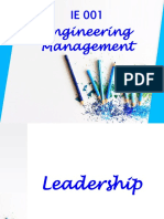 (10) Leadership