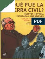 Carlos Fernández Liria, Silvia Casado Arenas ¿Qué fue la guerra civil? Nuestra historia explicada a los jóvenes