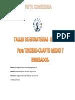 Afiche de Difusion Taller Estrategias de Estudio