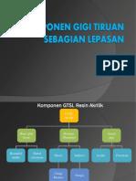 komponen GTSL