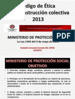 Especialidades Clinicas.codigo de Etica Connstructiva MPS