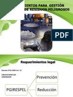 Lineamientos Para Gestión Integral de Residuos Peligrosos