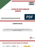 Obligaciones - 03 - Obligaciones de Dar Suma de Dinero