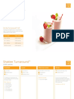 Shaklee 180 Nutrition Guide
