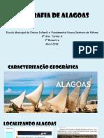 Geografia de Alagoas 1º Bimestre