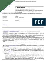 Procedimiento. Fiscalización y Multas. Régimen Sancionatorio. Adecuaciones