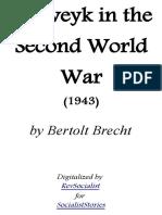 Schweyk in the Second World War by Bertolt Brecht