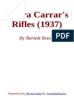 Senora Carrar's Rifles by Bertolt Brecht