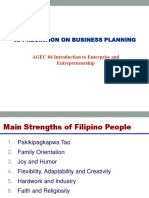 AgriBusiness Plan