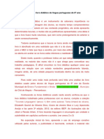 Uma Visão Geral Do Livro Didático de Língua Portuguesa Do 6º Ano e a Importância Para a Leitura Por Meio Do Gênero Narrativo