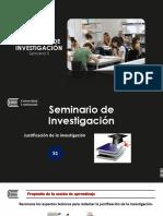 Semana 5_Justificación de La Investigación