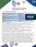 Syllabus Del Curso Quimica y Analisis de Los Alimentos