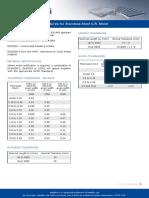 Metalfin Limited Stainless Steel en Standards for Stainless Steel CR Sheet 64