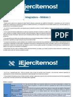 Actividad Práctica Integradora - Módulo 1 - Derecho Público Provincial y Municipal