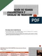 Con Videoconstrucc Ppt Aplicación de Teoria Psicometrica y Escalas de Medicion