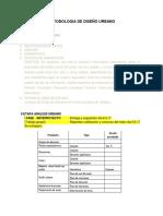 Ficha II Criterios y Metodologia de Diseño Urbano Tassa