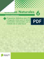 Material Complementario Cs. Naturales - Propuestas Didacticas Para El Abordaje de Contenidos Relacionados Con La Salud Bucal