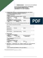 FORMULARIO ACTUALIZACION REGISTRAL