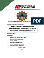 Willkins - Analisis Hidraulico Ambiental