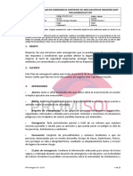 Plan de Emergencias Modificación Hot Tap Morrocoycito - Rev
