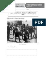 01 La Primera Guerra Mundial y La Revolución Rusa