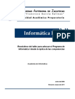 Programa de Informatica 1 - 2011