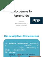 adjetivos y pronombres demostrativos.pptx