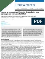 Melhoria no desenvolvimento de produto_ uma aplicação da ferramenta FMEA.pdf