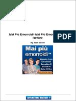 Mai Piu Emorroidi - Mai piu emorroidi pdf