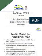 Kabala y Ester