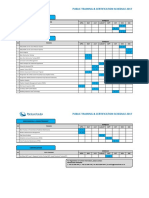 Public Training Certification Schedule 2017 2