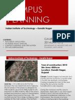 Campus Planning Iitgn Gaurav Bhandari