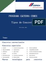 Catedra CEMEX - Tipos de concretos.pdf