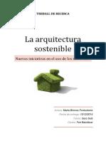 Briones Marta La Arquitectura Sostenible