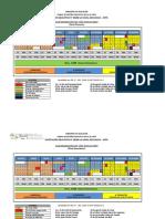 Calendarización Del Año Escolar 2019 (Version 1)