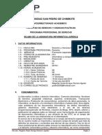 Silabo Informatica Juridica 2019-i