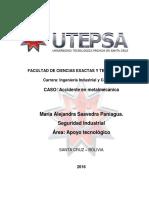 DEFENSA INTERNA caso accidente en metalmecanica.docx
